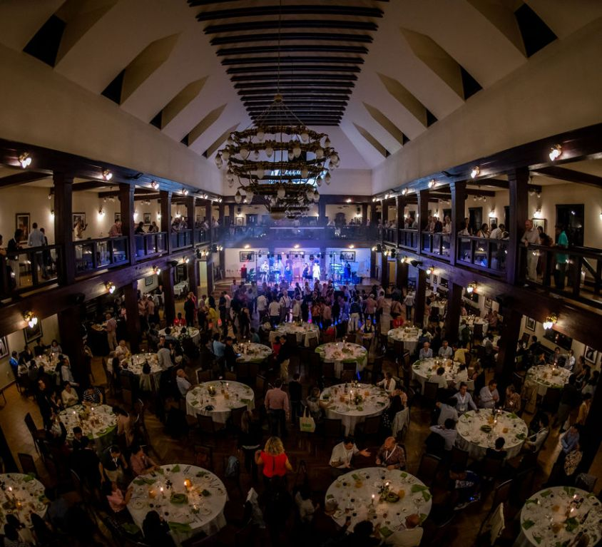 The gala dinner for the Wellington Labolatories
