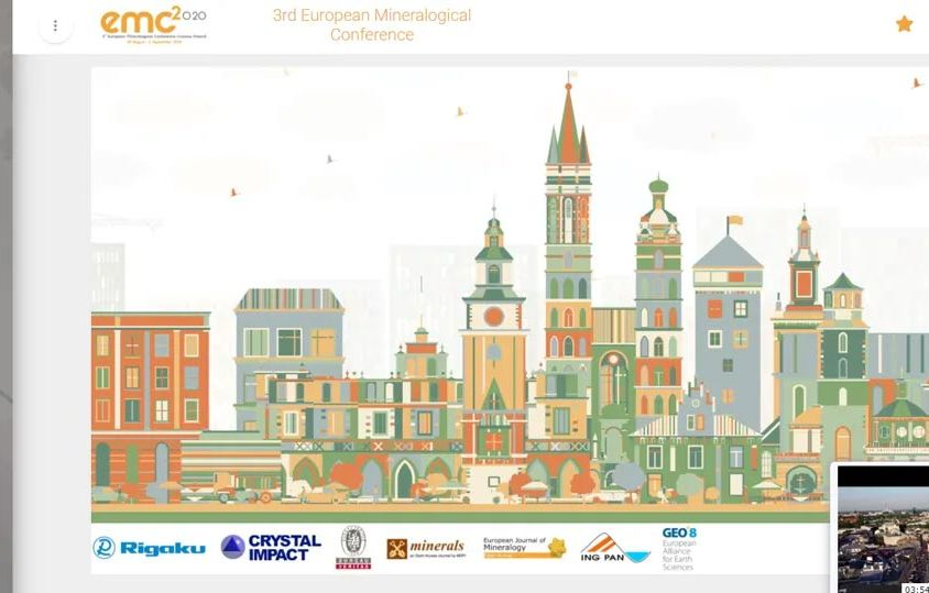 EMC2020 3rd European Mineralogical Conference